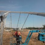We are working on picking trusses for a new building.