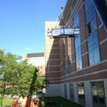 Removal of medical glovebox used for tuberculosis research at the Center for Medical Science in Albany
