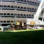 Panorama of jobsite.