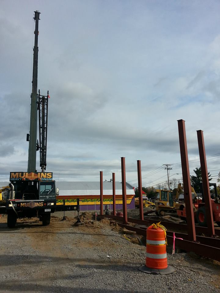 Setting columns for canopy
