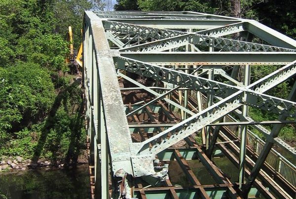 Bridge Construction, John Mullins Rigging & Hauling