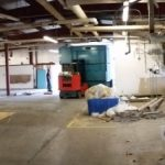 We uninstalled, transported, and unloaded in a warehouse all of the wash equipment for the hospital.