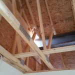 Crane: Link-Belt 8690 (Lifting roof of home to add 2nd story floor- Waterford, NY)