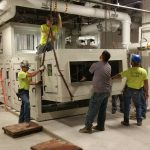 Crane: Link-Belt 822 (Install indoor Air Handler- Ellis Hospital Schenectady, NY)