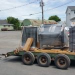 All the pieces loaded on our truck for delivery. We always recommend shipping customers items to our yard so that their are no delays on the day of your job waiting for a trucker to show up.