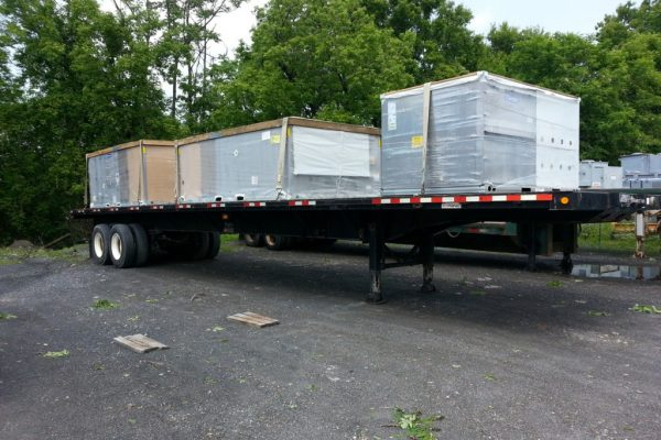 Mullins Rigging Flatbed Trailer