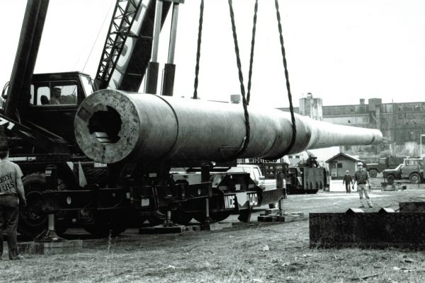 Mullins Rigging 16″ Mark II Battleship Canon-120 tons-Watervliet Arsenal