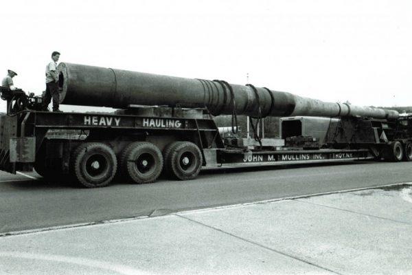Mullins Rigging 16″ Mark II Battleship Canon-120 tons-Watervliet Arsenal