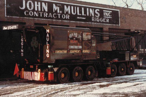 Mullins Rigging Manitowoc 3900T