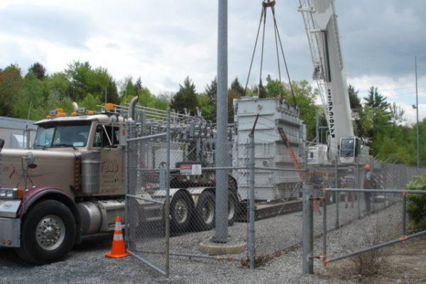 Mullins Rigging National Grid Power Transformer - 68 Tons