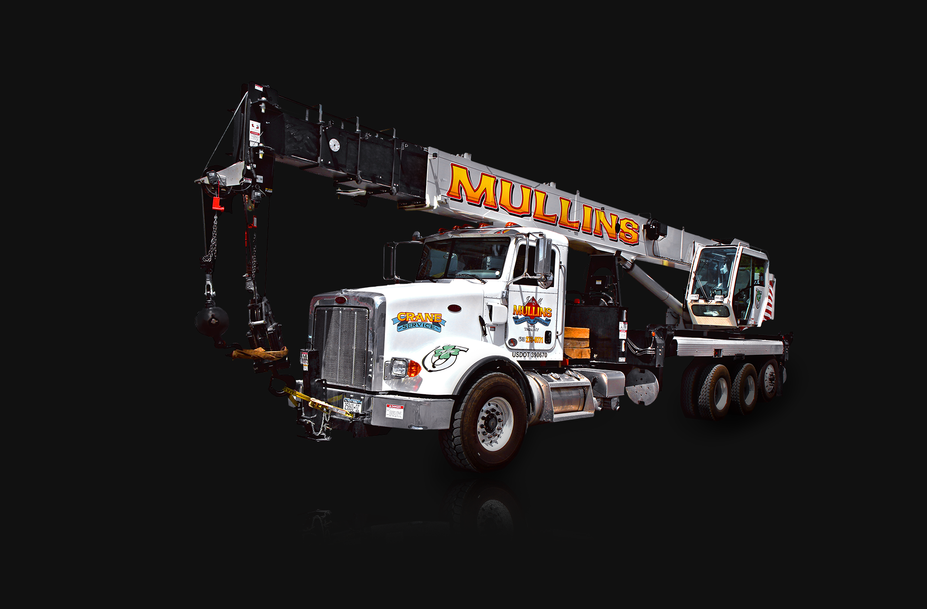 Mullins Rigging Crane 4national NBT45